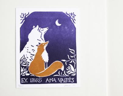 Personalized Ex Libris (Ana Valdés)