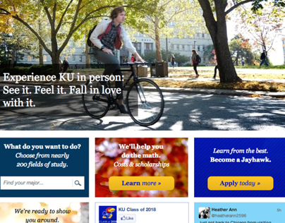 The University of Kansas Admissions Site