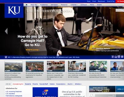 The University of Kansas Homepage