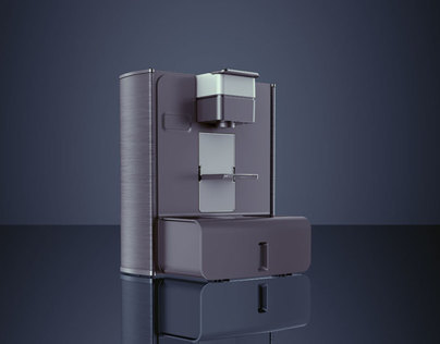 Hotpoint – Deluxe Coffee Machine CGI renders