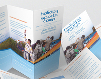 Publicity Campaign - Holiday Sports Camp