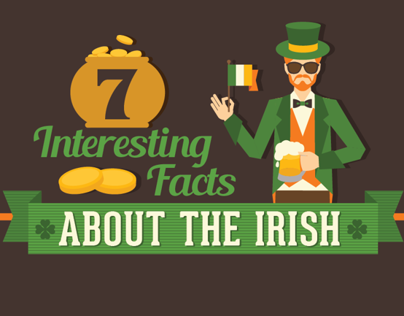 7 Facts About the Irish - Infographic