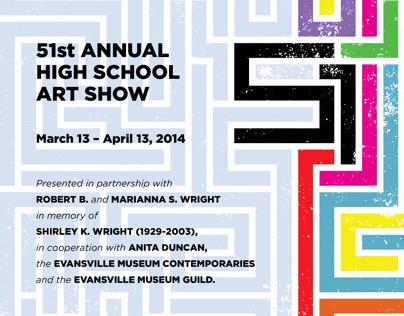 Evansville Museum 51st High School Art Show Exhibition