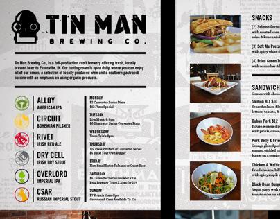 Tin Man Brewing Co. Flavors Advertisement