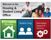 Housing & Student Living Web site