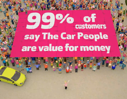 New TV Adverts for The Car People CHOICE & VALUE