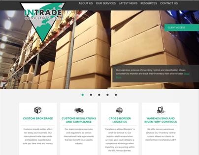 Web: Intrade Consultants Inc. Responsive Web Design