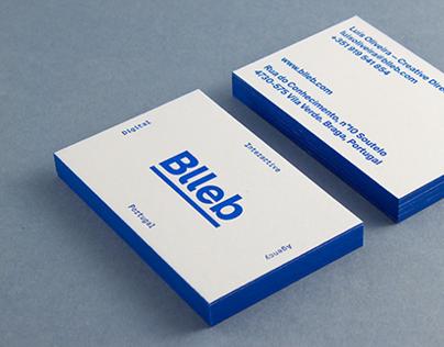 Blleb Letterpress Business Card