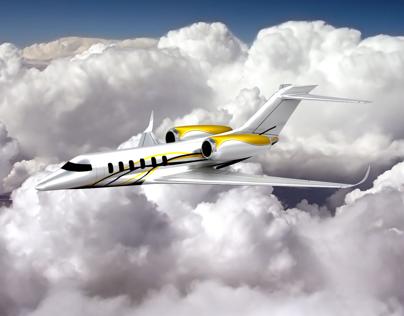 Business Jet 3D model