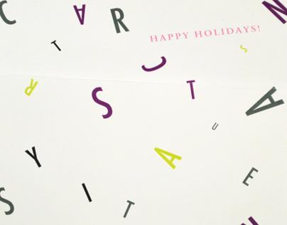 KCAI Happy Holidays Card