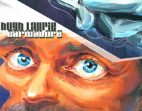 Hugh Laurie Caricature