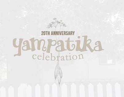 Yampatika 20th Anniversary rebrand