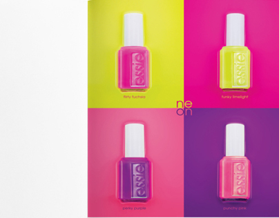 Full POS campaign for Essie Neon collection