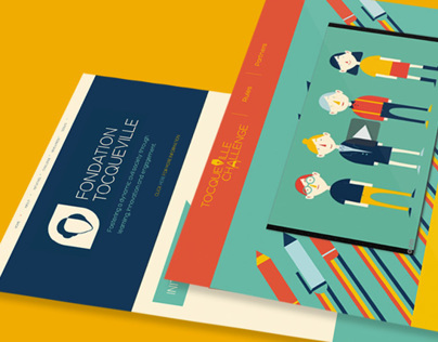 Tocqueville Foundation - Branding
