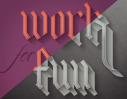 WORK for FUN