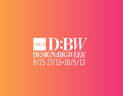 AIGA DFW Design Week App