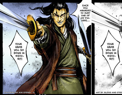 Blood and Steel Chapter 3 page 6 by Qiao Jingfu & Meng