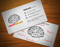Juicy Brain Business Card