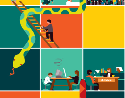 Editorial Illustration for RBS/Natwest