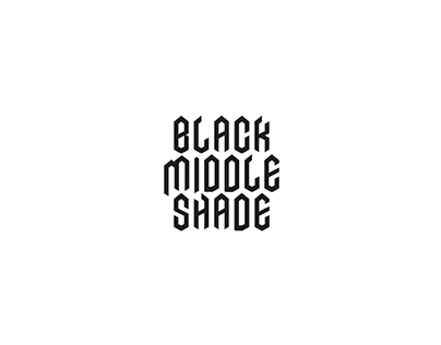 Black middle shade – Logo & poster