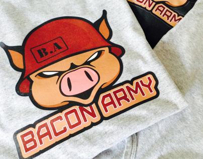Bacon Army Logo
