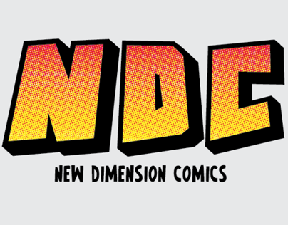 New Dimesnion Comics Rebrand