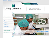 Ducray Lenoir Website
