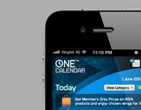 OneCal - Mobile Apps Design