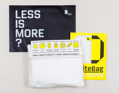 Design Silesia White Bag – flyer & cover