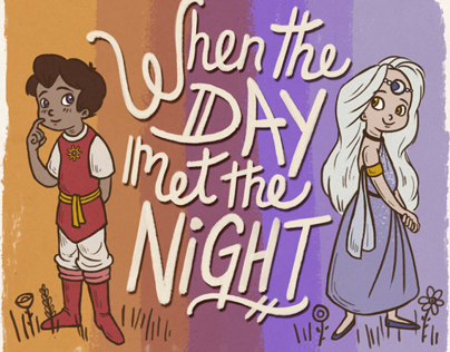 When the Day Met the Night (Unofficial Childrens Book)