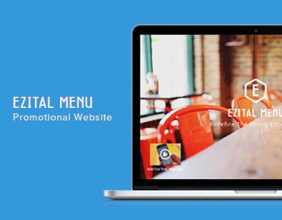 Ezital Menu - Promotional Site