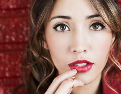 Portrait of Actress Fernanda Romero for Thrifty Hunter