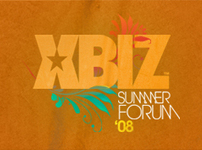 Xbiz Summer Forum 08 - branding + web design