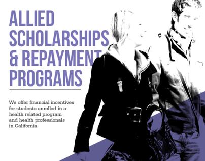 Scholarship Flyer Design