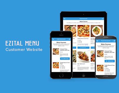Ezital Menu - Customer Site