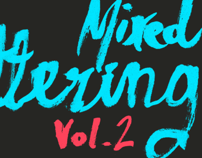 Mixed lettering Vol. 2
