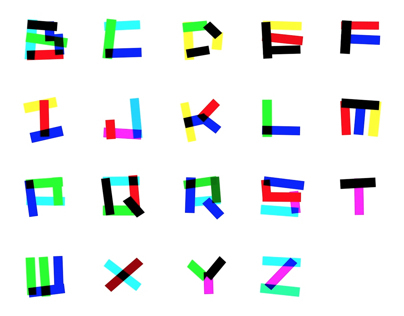 Electrica - Moving Typeface