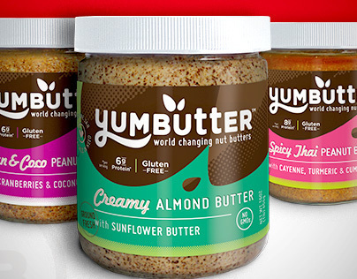 Yumbutter :: Packaging & Logo Redesign
