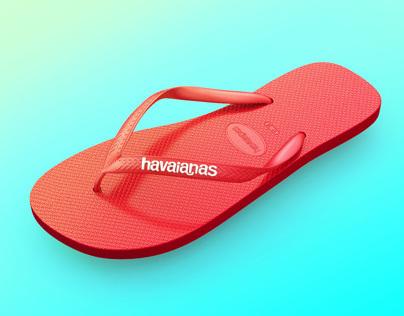 3D // Havaianas