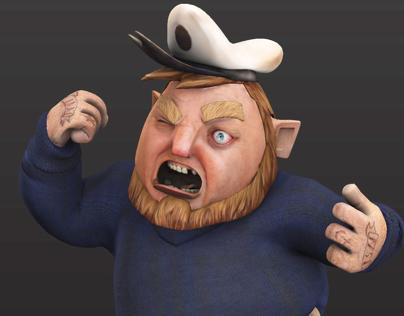 Captain Burt ◉ LIME