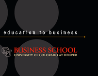 CU-Denver Business School Brochure