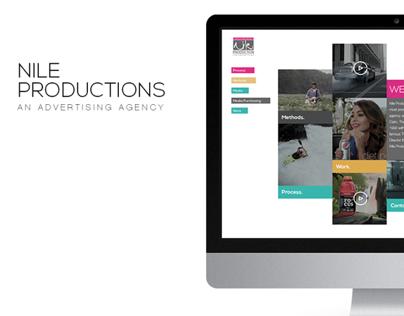 Nile Productions Web Design