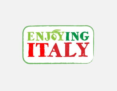Enjoying Italy, Website and Logo Design