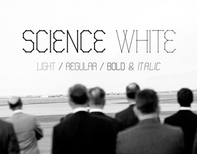 Science White - Fonts.