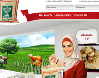 Rice Passion: Abukass Rice Consumer Site