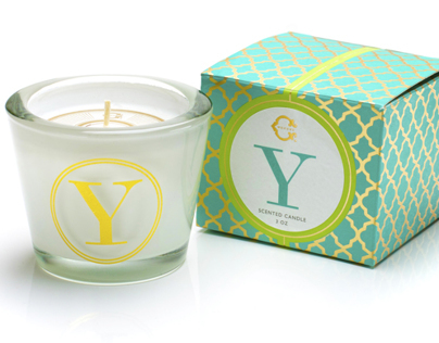 Luxury Candles Packaging Design for C Wonder