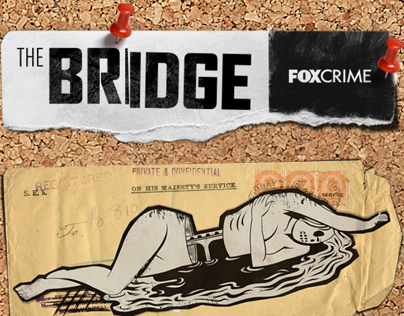 Fox Crime. The Bridge launch.