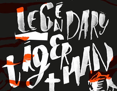 The Legendary Tigerman + Jibóia poster