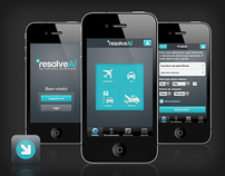 RESOLVEAÍ . LOGO, PRODUCT, MOBILE, APP