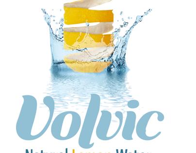 Volvic Re-brand Design